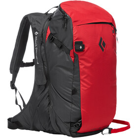 Black Diamond JetForce Pro Lumivyöryreppu 35l, red